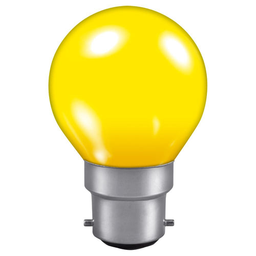 Golf Ball light bulb Yellow BC cap
