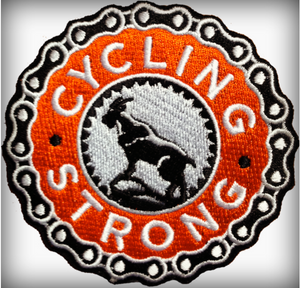 Cycling Strong Patch
