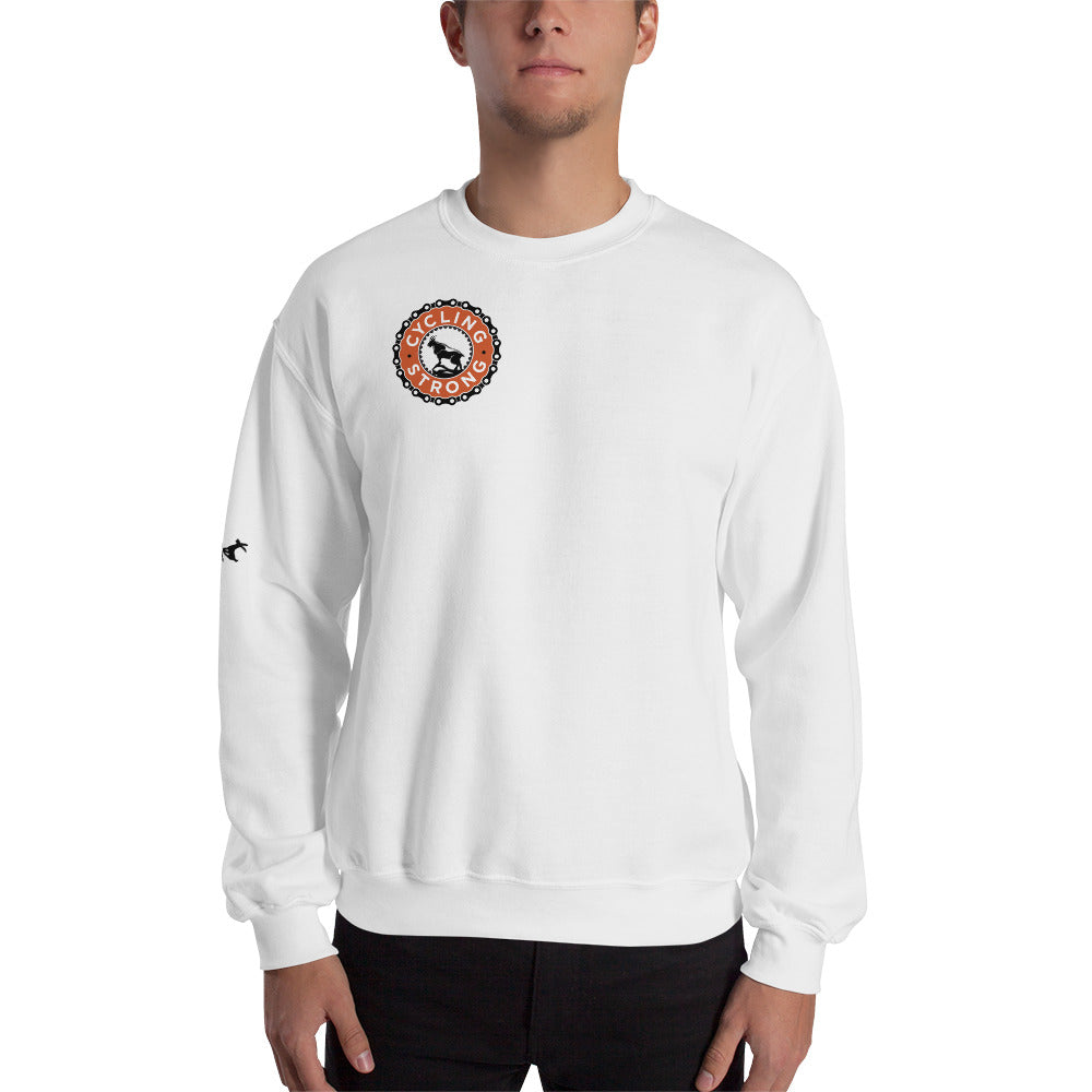 Cycling Strong Sweatshirt (Unisex)