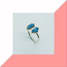 Load image into Gallery viewer, Open Style Opal Doublet Ring