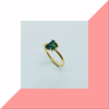 Load image into Gallery viewer, Parti Sapphire Ring