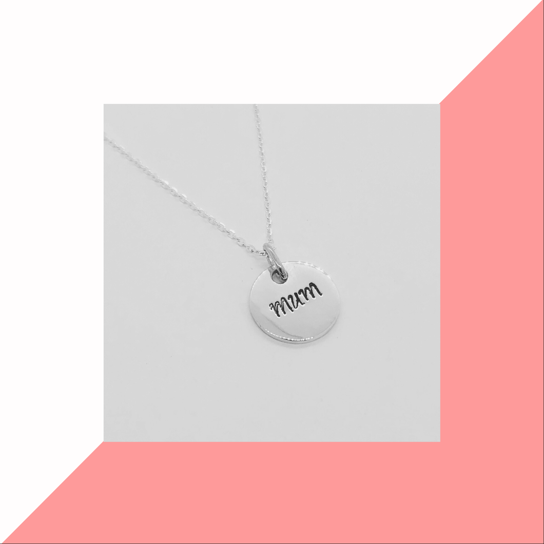 Mothers Day 2020 single pendant