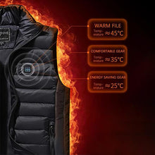 Load image into Gallery viewer, 2019-Waterproof & Lightweight Unisex Warming Heated Vest(50% OFF+Free Shipping)