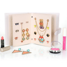 Load image into Gallery viewer, (50%OFF)  Travel Jewelry Case Pu Leather Earring Holder (Buy 3 get 4)