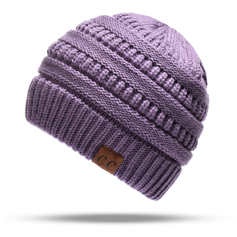 Soft Knit Ponytail Beanie - [ Buy 3 Get 1 Free & Free Shipping! ]