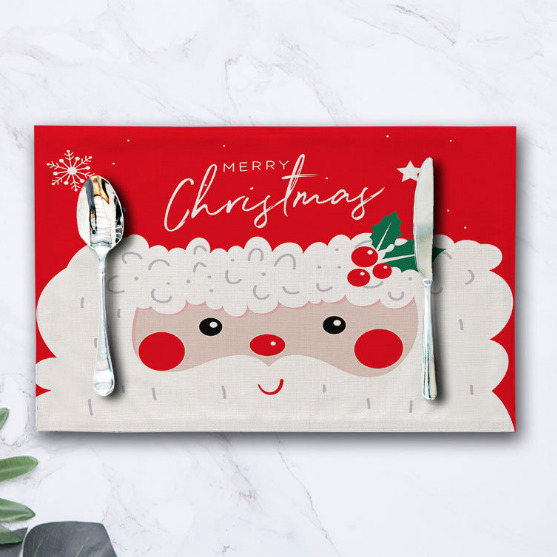 🎅Christmas Table Mat - [💰Last Week Promotion] - (🔥 HOT selling 5,000 items)