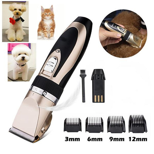Noise-Free Dog Shaver Clippers