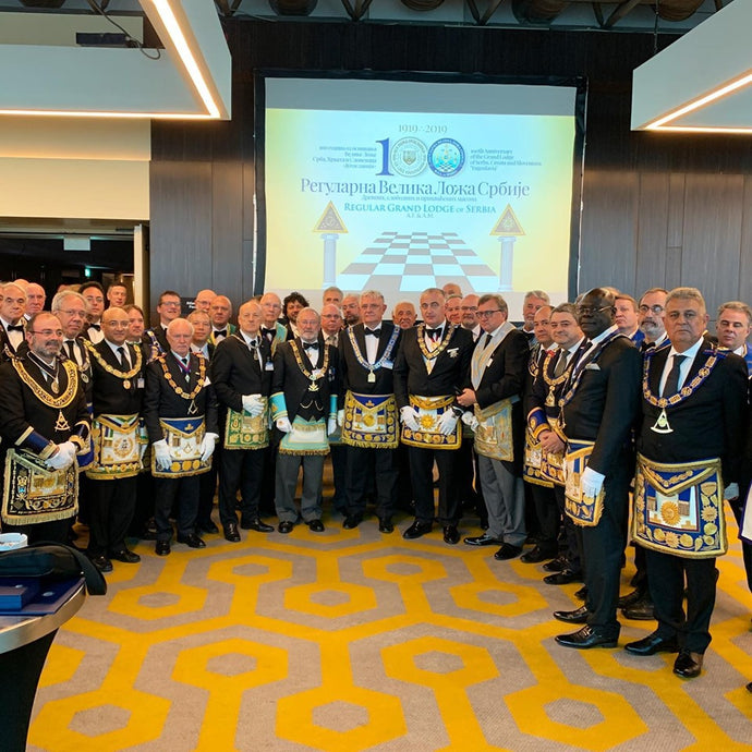 The 100th anniversary of the Grand Lodge of Yugoslavia.