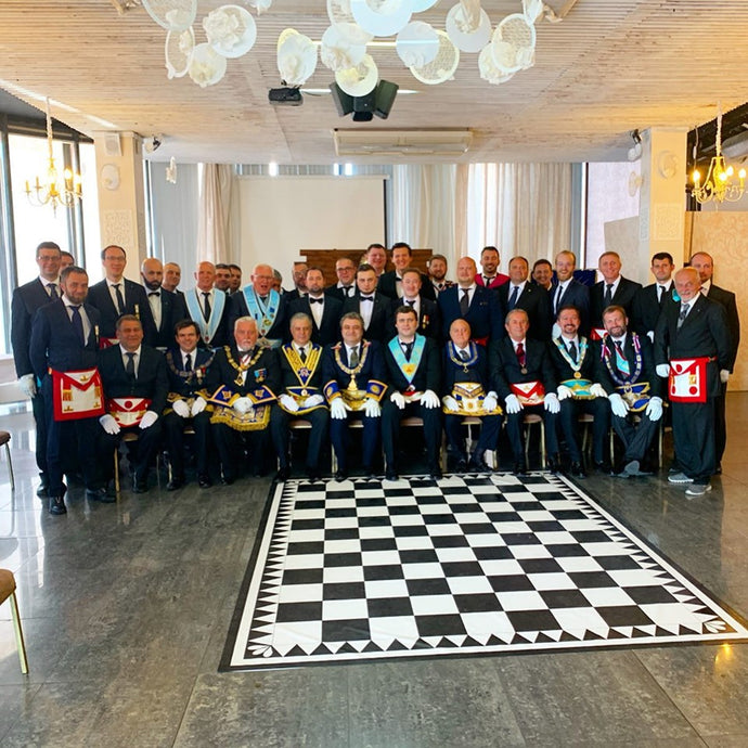 "Installation of the new Honorable Lodge ""Giancarlo Seri"" N58"