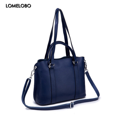 5afd875497c6 Real Cow Leather Women Handbags Lady Genuine Leather Bag Female Shoulder Bag  Fashion Totes Girl Luxury