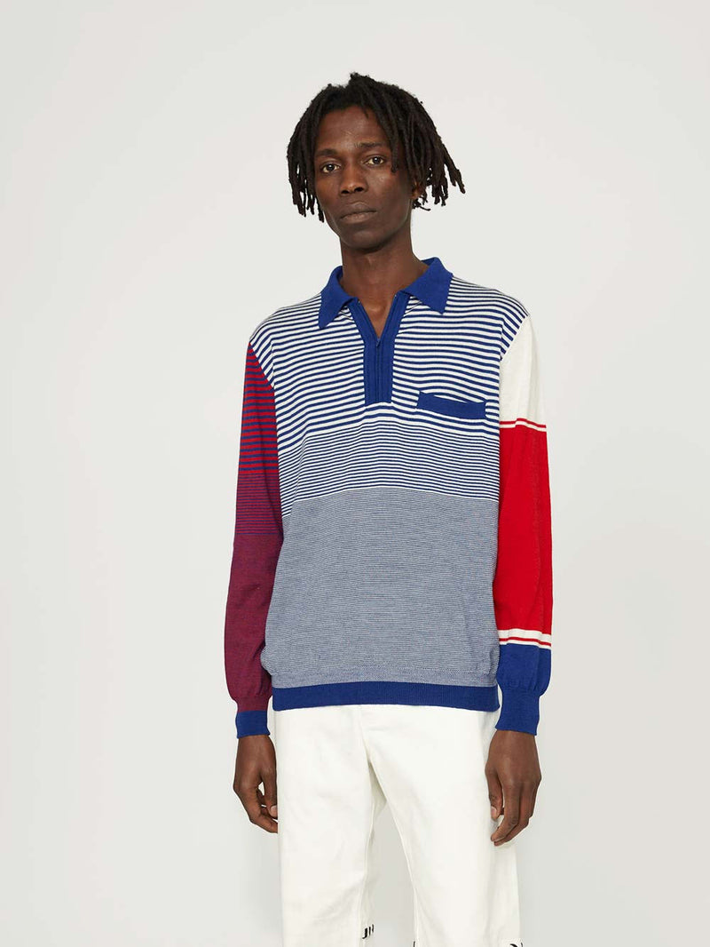 Martine Rose Fine Knit Polo - Archive Clothing