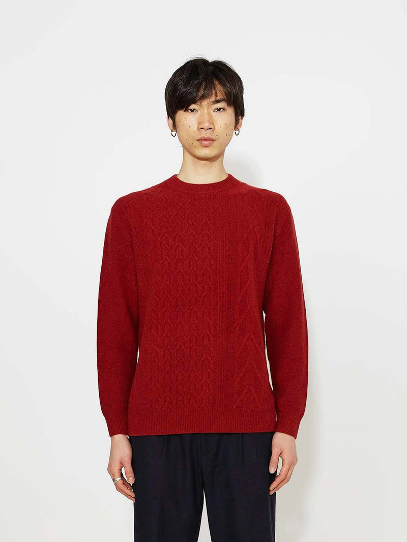 Pringle Of Scotland Cashmere Cable Sweater - Archive Clothing