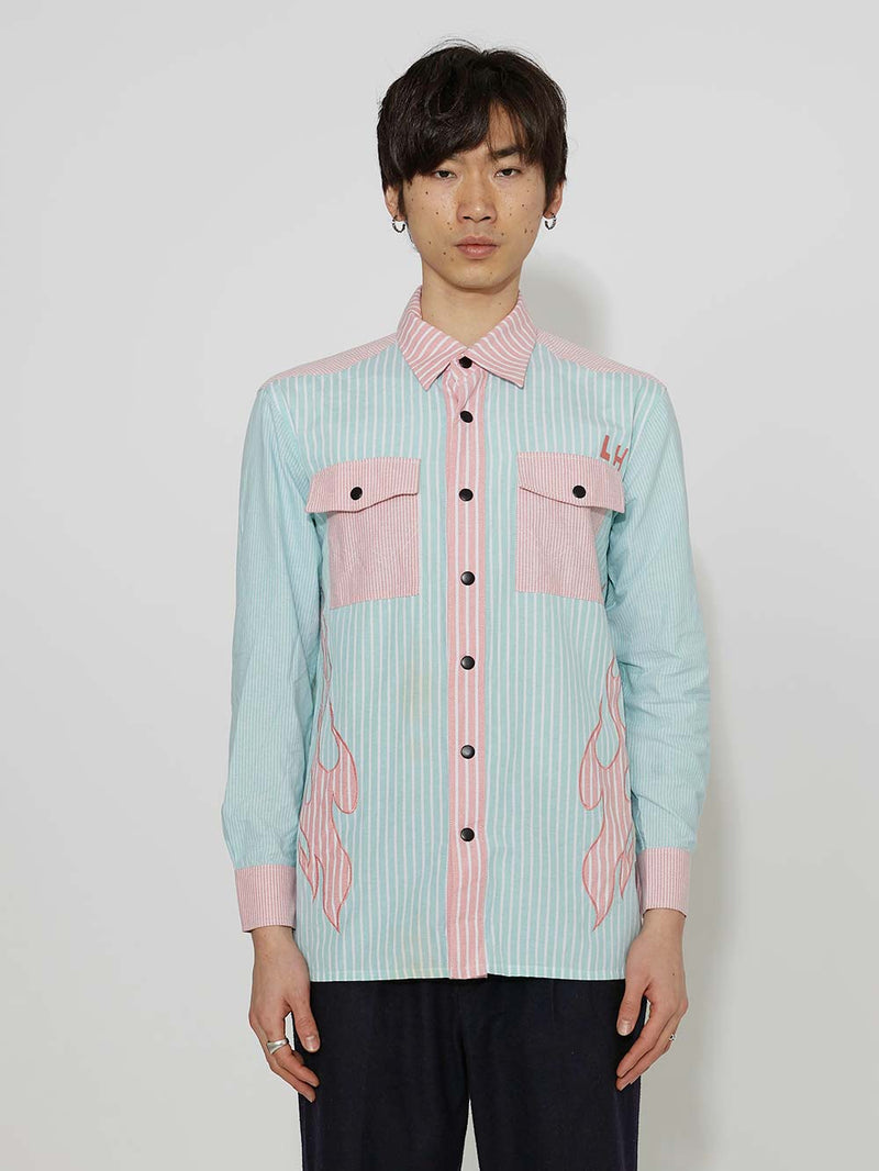Liam Hodges Hot Cowboy Long Sleeve Shirt - Archive Clothing