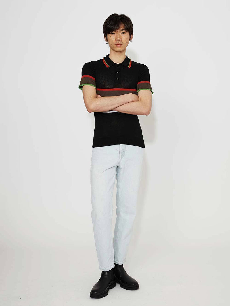 Liam Hodges Classic Knit Polo - Archive Clothing
