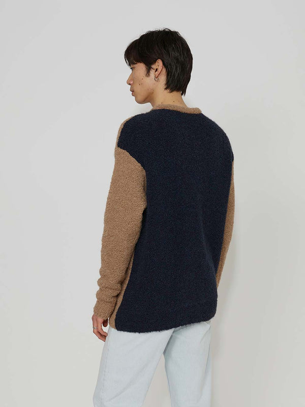 Lou Dalton x John Smedley Contrast Striped Sweater - Archive Clothing