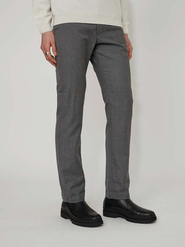 Daniel W Fletcher Stripe Tailored Trousers - Archive Clothing