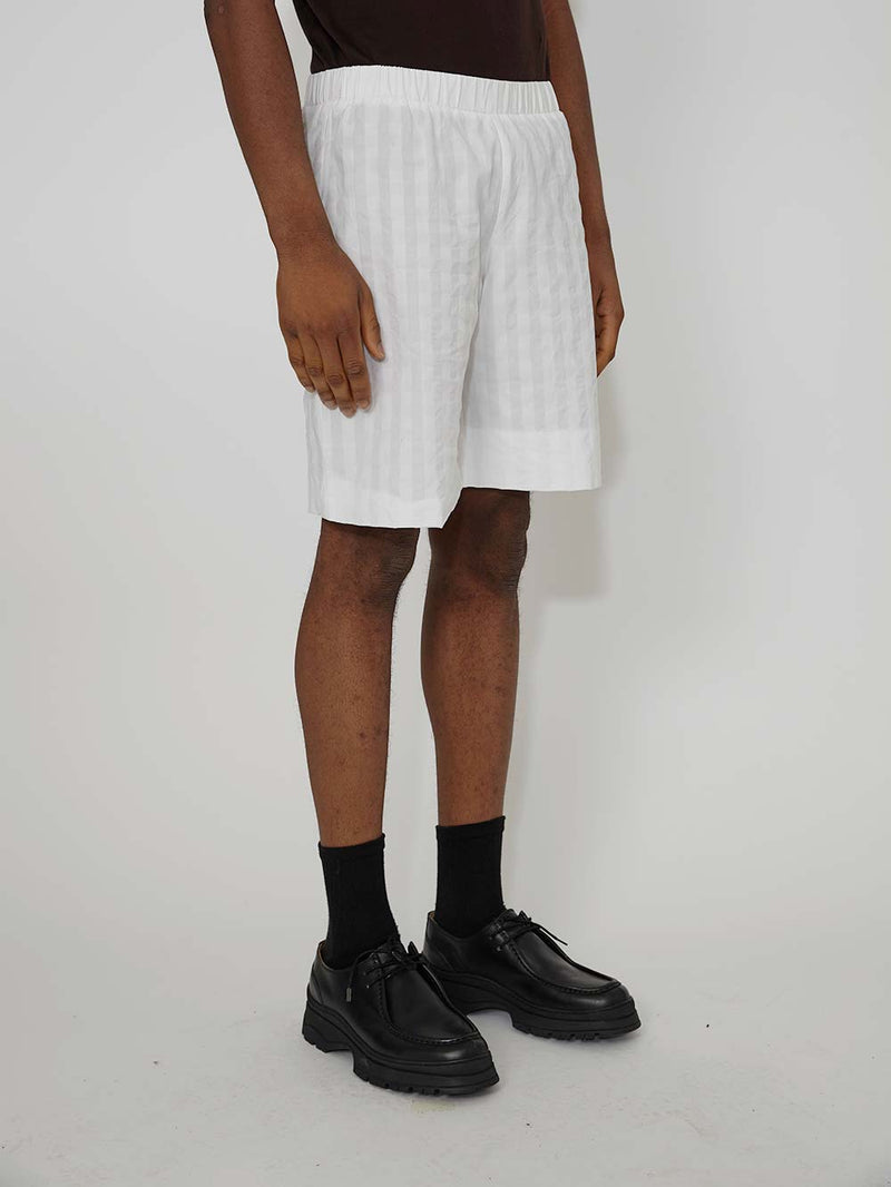 Lou Dalton Seersucker Elasticated Short - Archive Clothing
