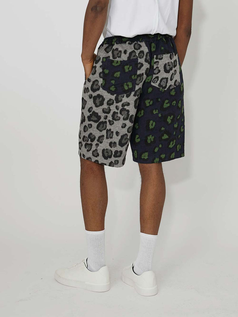 Liam Hodges Grandada Leopard Shorts - Archive Clothing