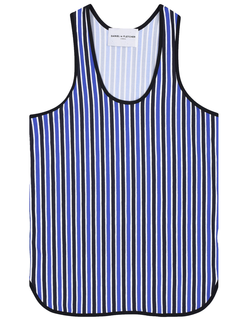 Daniel W Fletcher Striped Vest - Archive Clothing