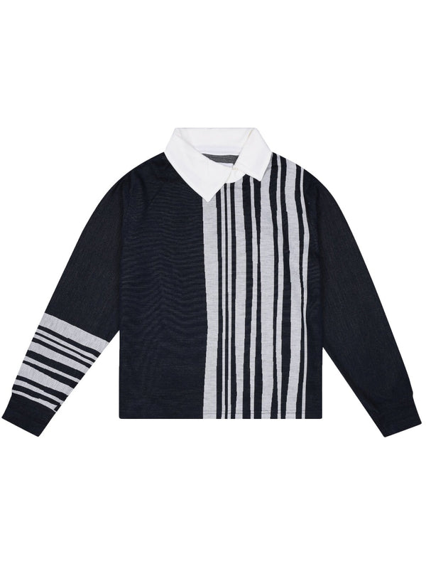 Daniel W Fletcher Side Stripe Sweater - Archive Clothing