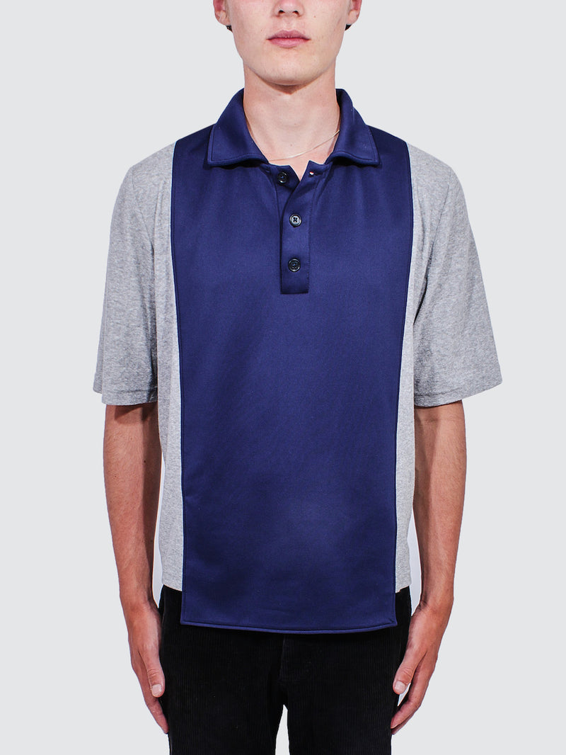 Daniel W Fletcher Panelled Polo - Archive Clothing