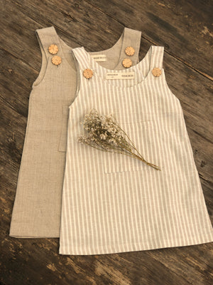 FINDER Pinafore Dress