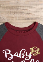 Christmas Baby It's Cold Outside Baseball Long Sleeve T-Shirt