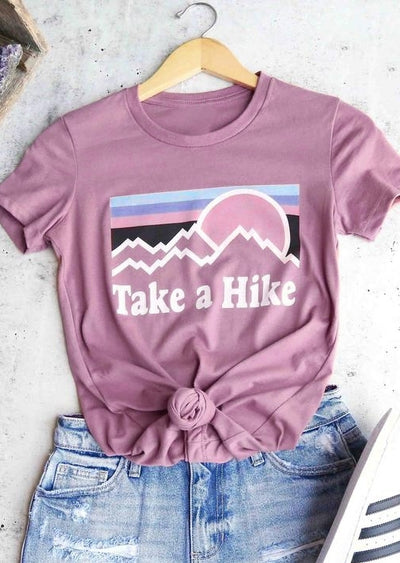Take A Hike O-Neck T-Shirt