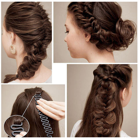 DIY Hairstyling Headband Magic Hair Braiding Tool