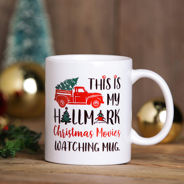 This Is My Hallmark Christmas Movies Watching Mug