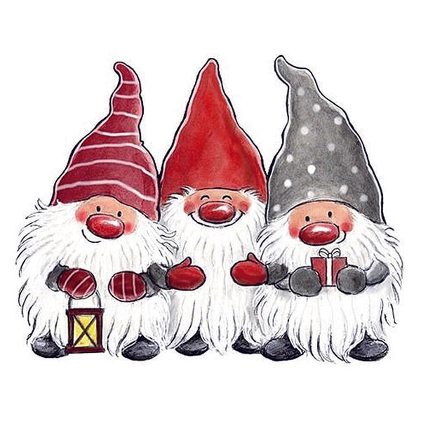 Christmas Gnomies Pillowcase without Pillow