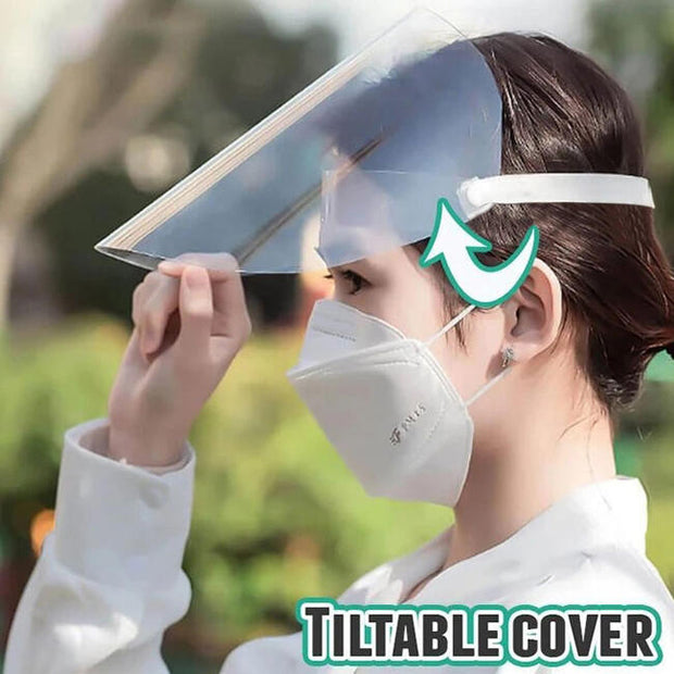 Splash-Proof Full Face Shield