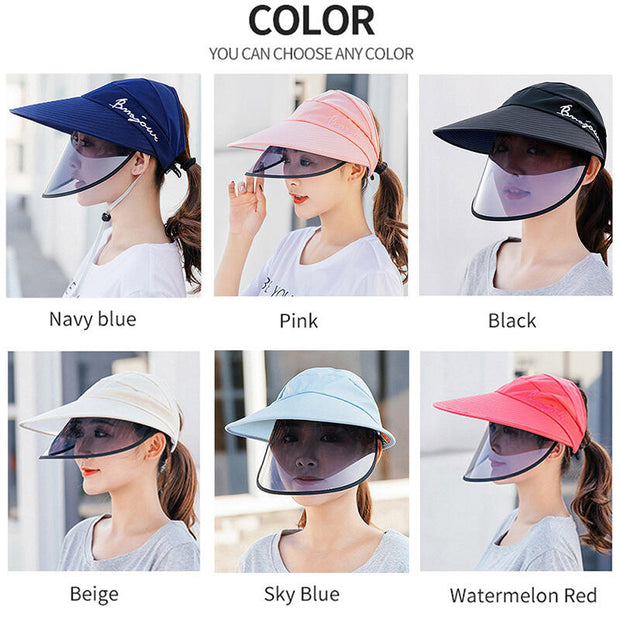 UV Protection Double-Layer Big-Edge Sun Hat