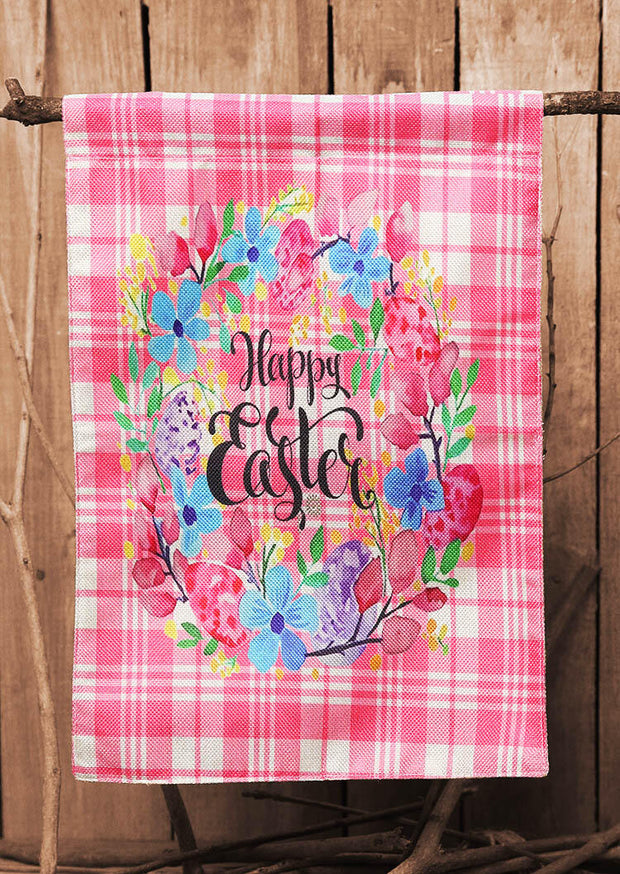 Presale - Welcome Happy Easter Bunnies Small Garden Flag
