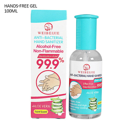 Portable Disinfectant 60ML Disinfection Spray 100ML Hands-Free Gel 100ML
