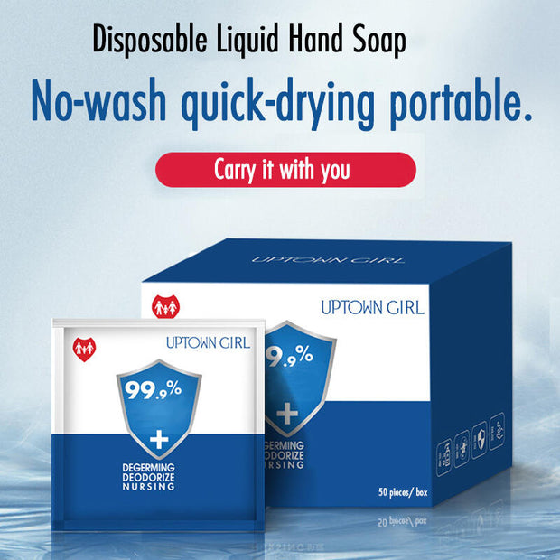 Disposable Liquid Hand Soap