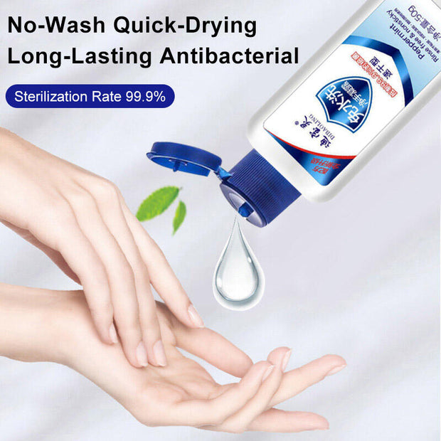 Portable Wash-Free Disinfectant Hand Sanitizer Gel
