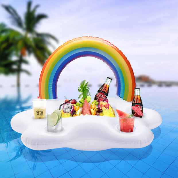 Summer Inflatable Floating Row Swimming Ring