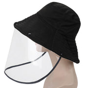 Detachable Splash-Proof Face Shield Fisherman Hat