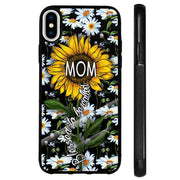 Sunflower Iphone Silicone Protective Phone Case