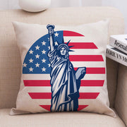 Presale - American Flag Goddess of Freedom Pillowcase without Pillow