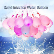 111Pcs Self Sealing Summer Water Balloons - Quick Fill Set