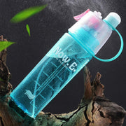 Portable Sports Spray Drinking Water Bottle