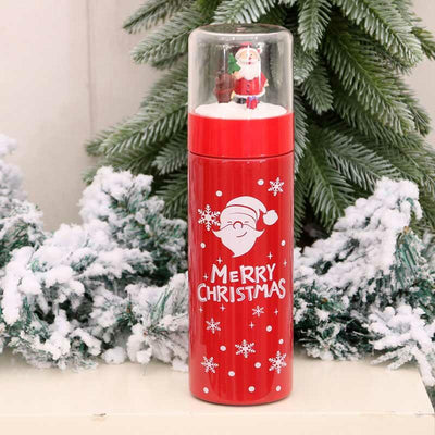 Merry Christmas Snowflake 304 Stainless Steel Insulation Cup