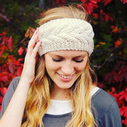 Winter Warm Crochet Casual Wide Headband