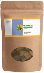 Hempulse premium 5mg chewable CBD treats for dogs, cats and and other pets
