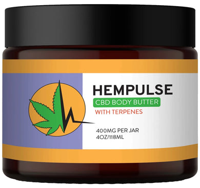 Hempulse Body Butter Topical Cream for muscle and joint pain relief