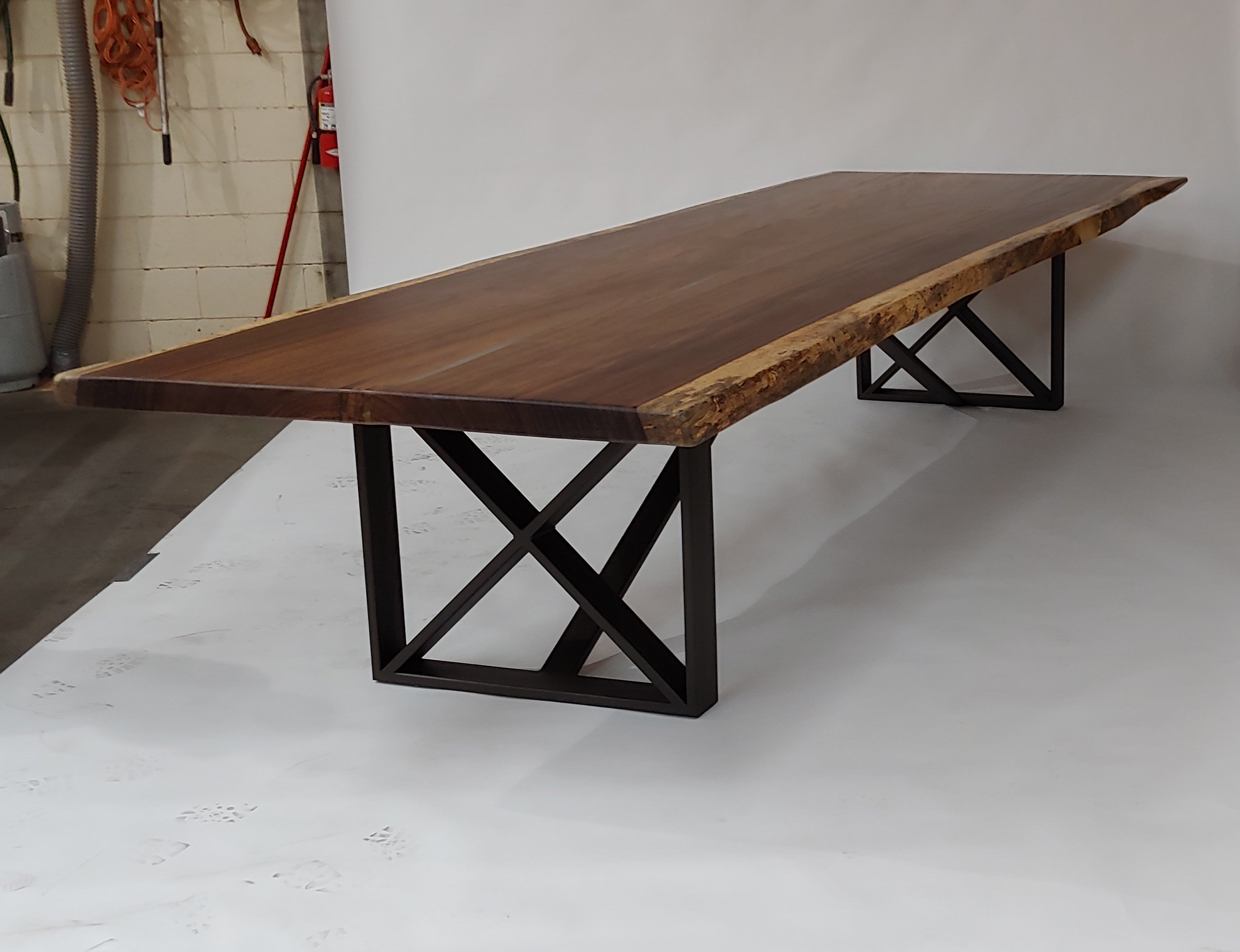 """X Squared"" Steel Table Base"