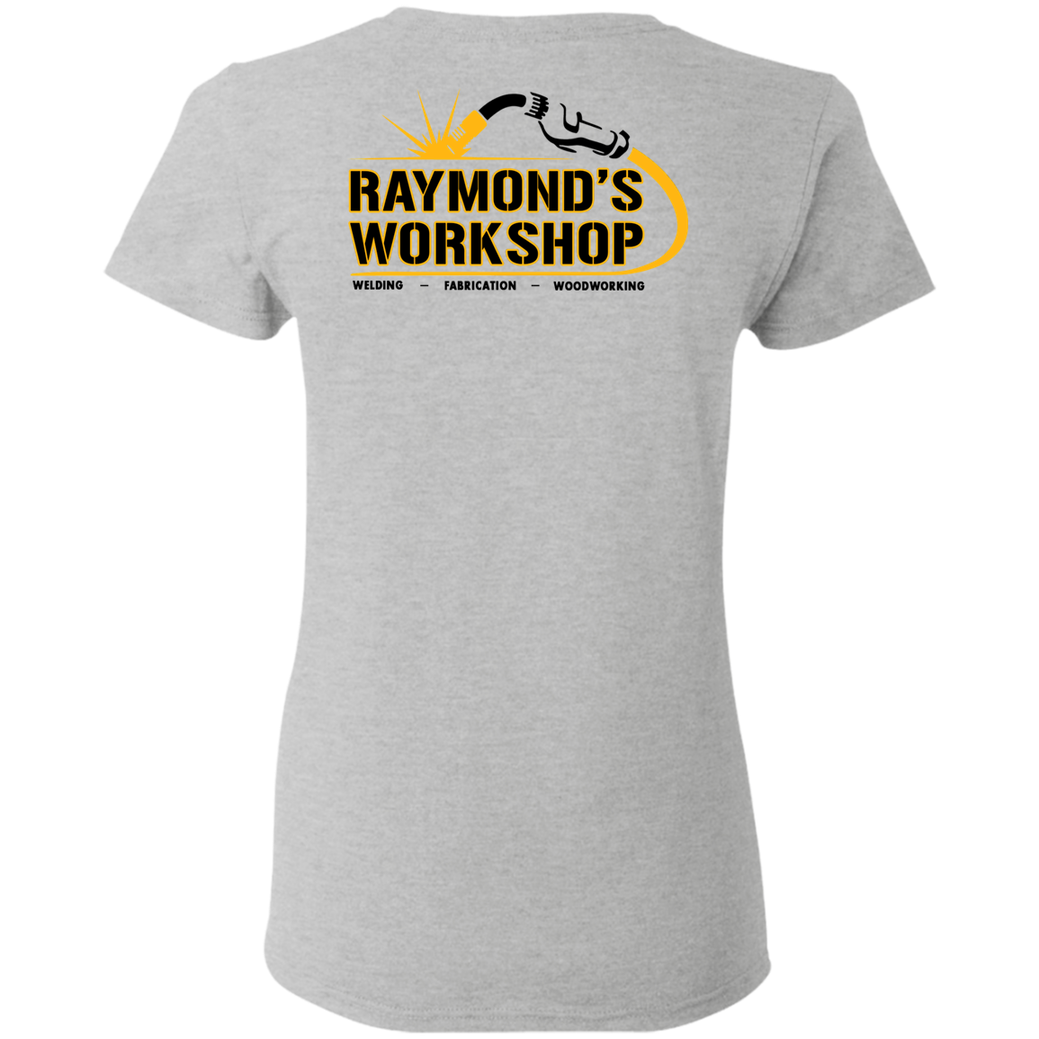 Raymond's Workshop Ladies' 5.3 oz. T-Shirt