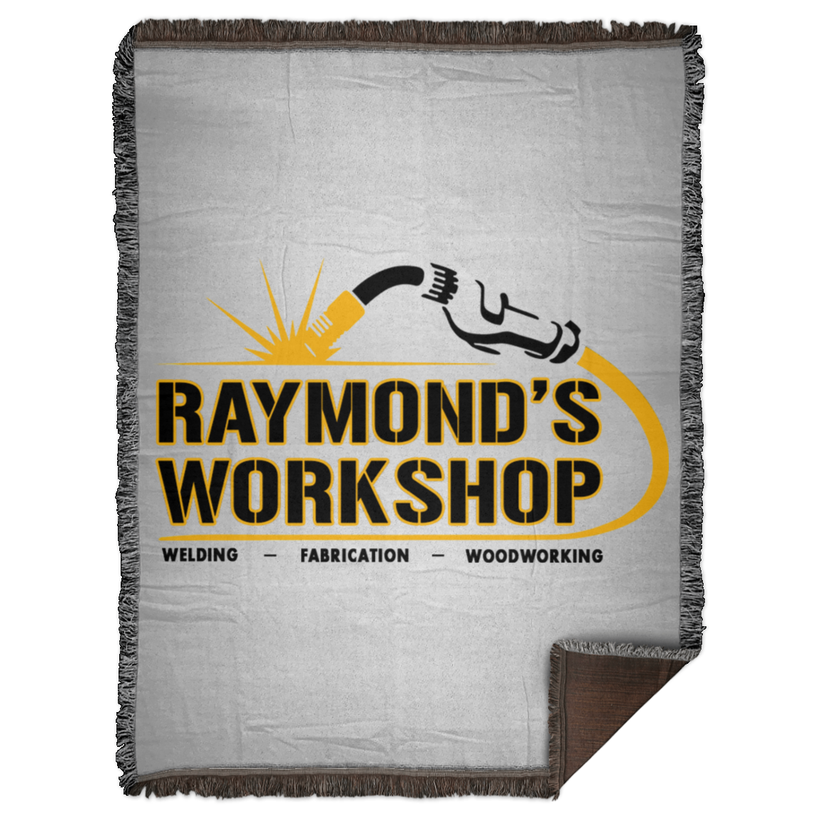 Raymond's Workshop Woven Blanket - 60x80